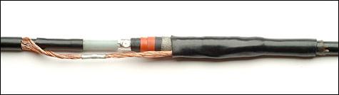 Сшитый полиэтилен кабель муфта 10кв 17